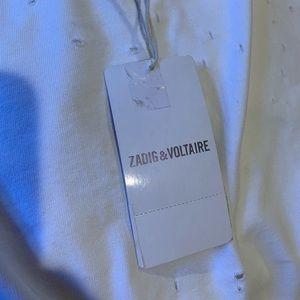 Zadig & Voltaire Tops - Zadig & Voltaire Woo T-Shirt, XS
